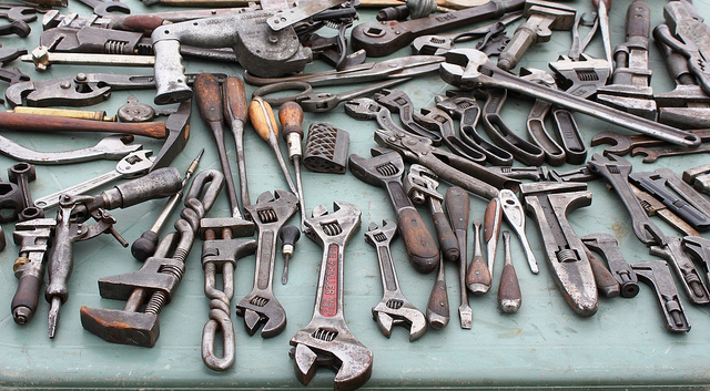 Selection of tools