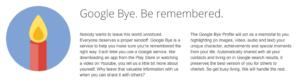 Google Bye