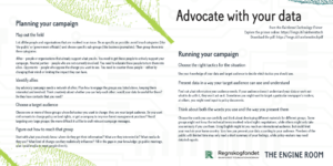Tips to plan and run a forest advocacy campaign
