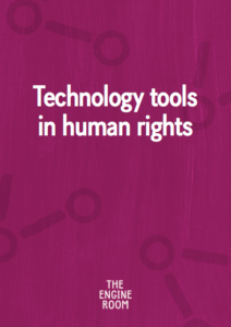 tech tools in human rights cover