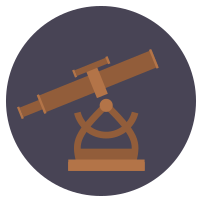 Alidade logo - circle